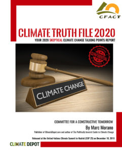Skeptical Climate 'Talking Points' 36-Page Report Released at UN Climate Summit in Madrid