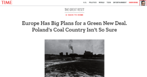 climatedepot.com - Marc Morano - Time Mag's Great Reset issue: How COVID lockdowns 'murdered' Polish coal mining & forced it to accept its own demise & the EU's Green New Deal